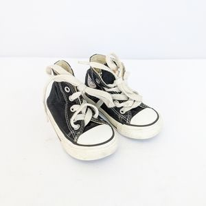 Converse Classic Black High Top Sneakers Baby 5